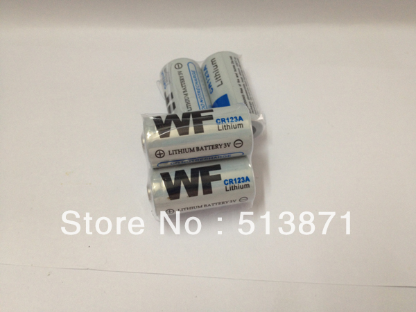 200PCS/LOT WF CR123A CR123 CR 123A 16340 Primary Lithium Battery 3V Batteries EMS Free Shipping(China (Mainland))