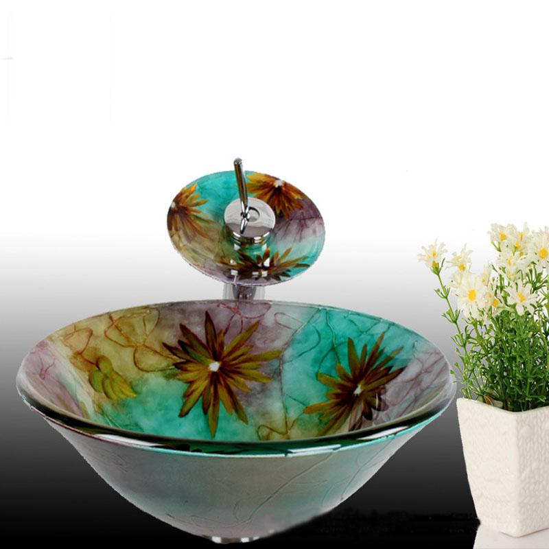 Compra lavabos de cristal templado online al por mayor de - Lavabos cristal templado ...