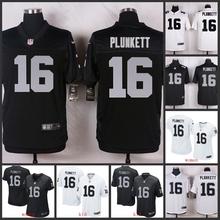 100% Elite men Oakland Raiders WOMEN YOUTH KIDS FREE SHIPPING 16 Jim Plunkett(China (Mainland))