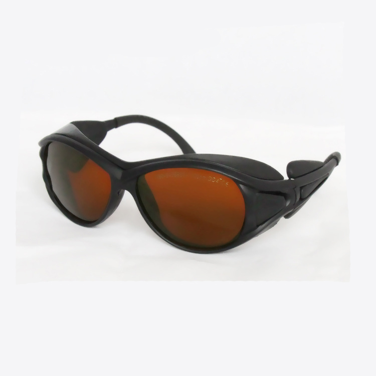 laser safety glasses O.D 4+ for 190-540nm and 900-1700nm  266,  488-514.5 441 .6 532 1064 904 980, 1510  1530,1610