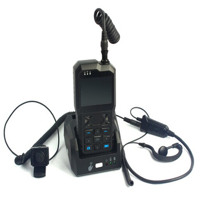 3G Portable Mobile Video Recorder with WCDMA/WIFI &amp; GPS module &amp; Mini Cam &amp; Headset for Realtime AV Monitoring &amp; 2 way Intercom<br>