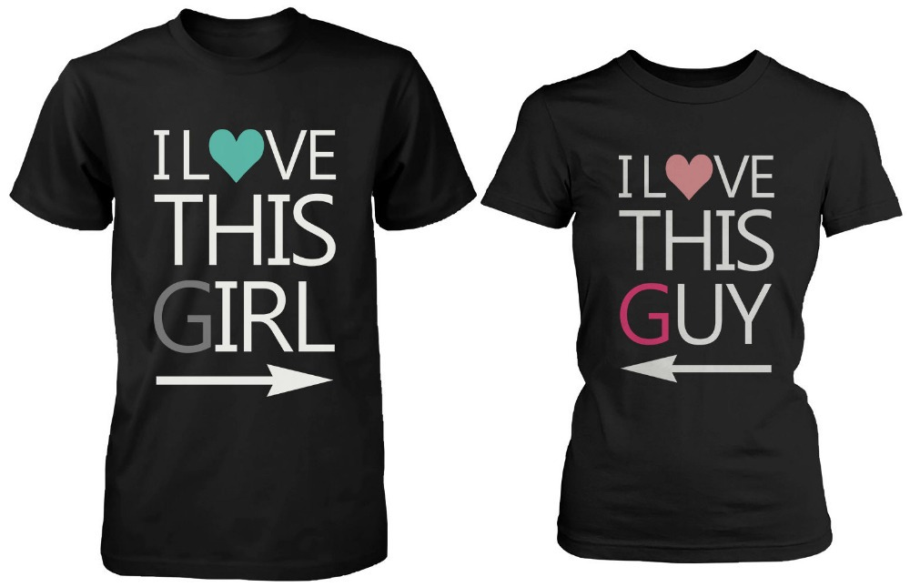 His And Her Matching T Shirts For Couples Matching Shirts