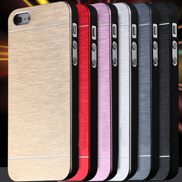 Cool Metal Gold Case For Apple iphone5 5S 5G Aluminum Plastic Hard Back Phone Accessories Brand Logo Luxury Cover for iphone 5(China (Mainland))