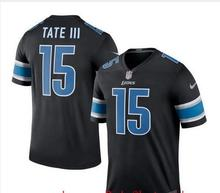 2016 Rush Limited Men's Detroit Lions 9# Matthew Stafford 15# Golden Tate Color Top Quality()