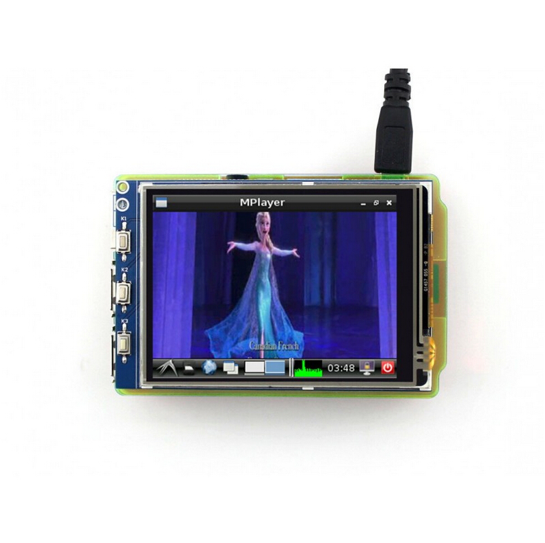 Raspberry Pi Touch Screen 3.2inch TFT LCD with XPT2046 Controller 320*240 Pixel for Any Revision of Raspberry-pi(China (Mainland))