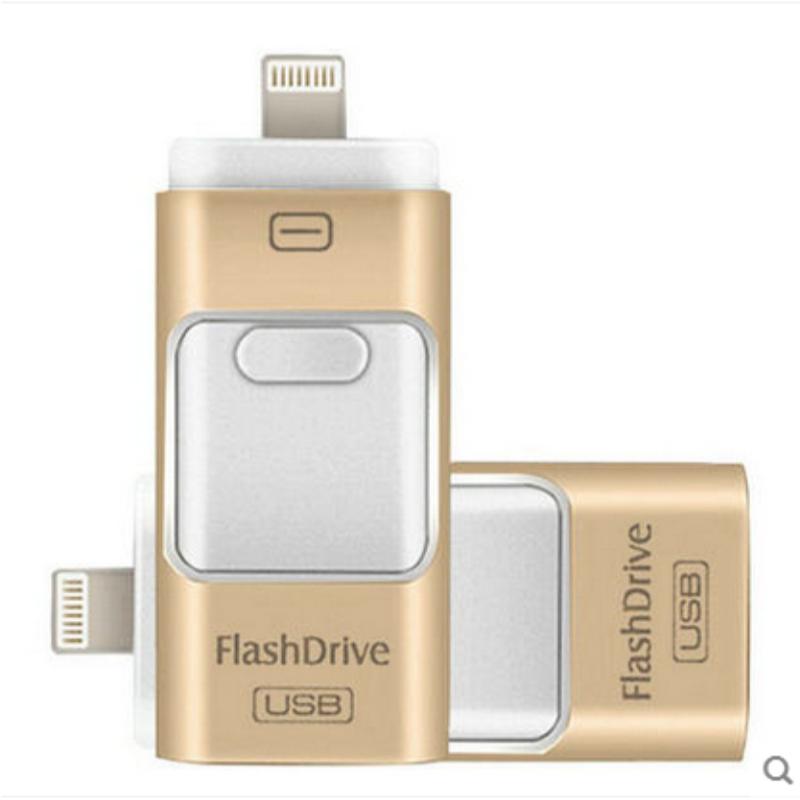 i-Flash Drive 32gb 64gb Mini Usb Metal Pen Drive Otg Usb Flash Drive For iPhone 5/5s/5c/6/6 Plus/ipad i-Flashdrive Pendrive(China (Mainland))