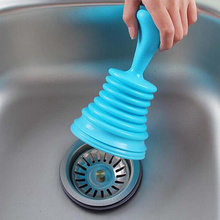 1 Pcs New  Household Sewer Suction Plug Toilet Plunger Pipeline Dredger Kitchen Bathroom Accessories(China (Mainland))