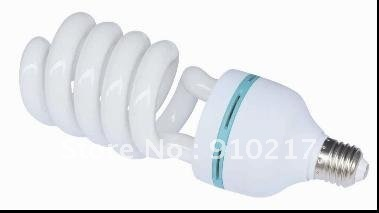 Sample offer!High power half spiral fluorescent bulb 45w 14mm diameter tri-phospor cfl energy saving lamp with 8000hs