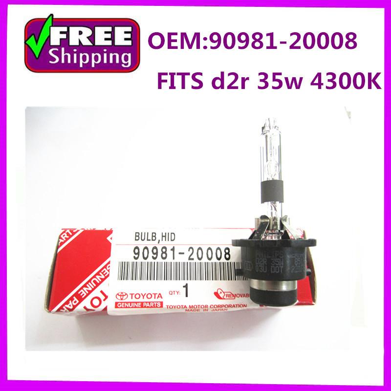90981-20008 9098120008   D2r 4300K 35w  06-09 Xenon HID bulb Headlight OEM<br><br>Aliexpress