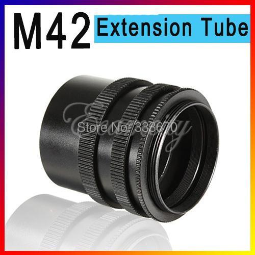 3 Ring Macro Extension Tube for SLR cameras with M42 lens mount for Canon EOS EF DSLR SLR 5D II 7D 60D 50D 600D 500D<br><br>Aliexpress