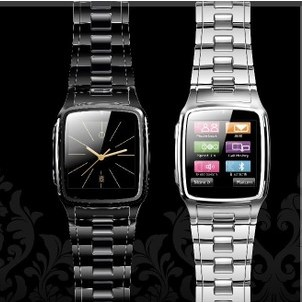 TW810 8GB NEW 1.6 inch Touch Screen Watch Phone Smart Watch Support Camera Bluetooth Java GPRS FM SMS Stainless Steel Unlocked(China (Mainland))