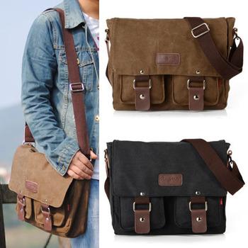 Men Casual For 2015 School Bolsa Crossbody Messenger-Bag Masculina Satchel Shoulder Bolsos Casual-Bag Messenger Canvas Bag S261