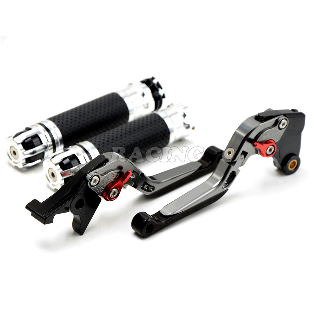 Фотография Motorcycle  Hand Grips Handlebar & Adjustable brake clutch levers for BMW F650GS  00 01 02 03 04 05 06 07 F700GS 13 14 15 16