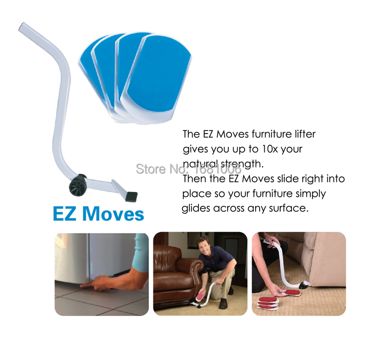 new furniture moving pads Moving Tools for sofa cushion easy move Heavy furnitures protect floors product 4 sliders FP002(China (Mainland))