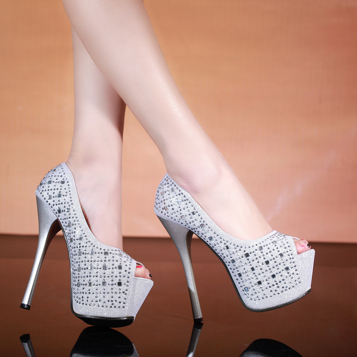Extremely High Platform Heels