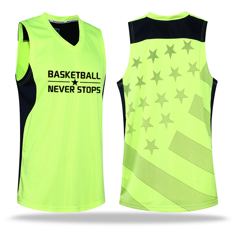 Brand High-quality New Boys Basketball Sportswear Suit Jersey and Shorts Suits Breathable Quick Dry (green)(China (Mainland))
