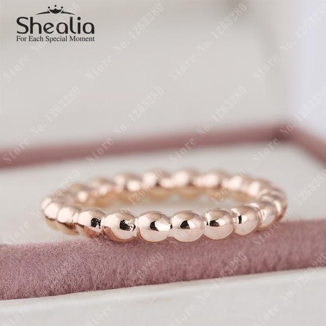 2015 новый 14 К розового золота вечная облака кольца для женщин круглый кольцо 925 стерлингового серебра ювелирных украшений