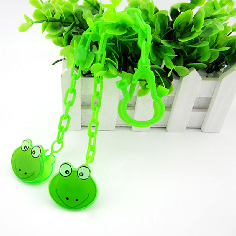 Baby Pacifier Chain Suitable Pacifier Holder Soother Chain Drop-Resistant Belt Plastic Strap Baby Pacifier Clip Nipple VCR17 P50(China (Mainland))