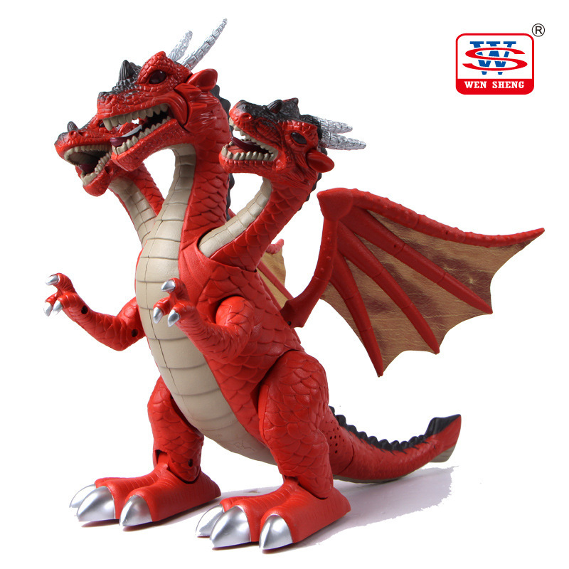 Electric dinosaur toys Educational toys for children With music Light Walk Sounds Model Toys(China (Mainland))