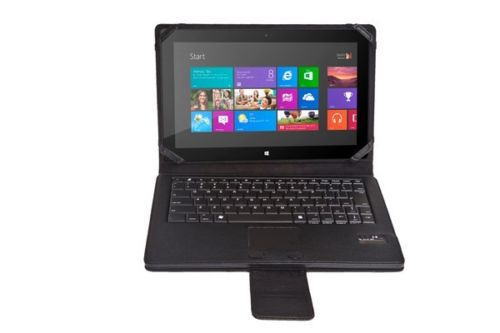High Quality Removable Bluetooth Keyboard Leather Case Touchpad for Microsoft Surface RT Pro free shipping(China (Mainland))