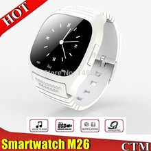 New Bluetooth Sports smartatch M26 with LED Display / Dial / Alarm / Music Player / Pedometer for Android IOS HTC Mobile Phone