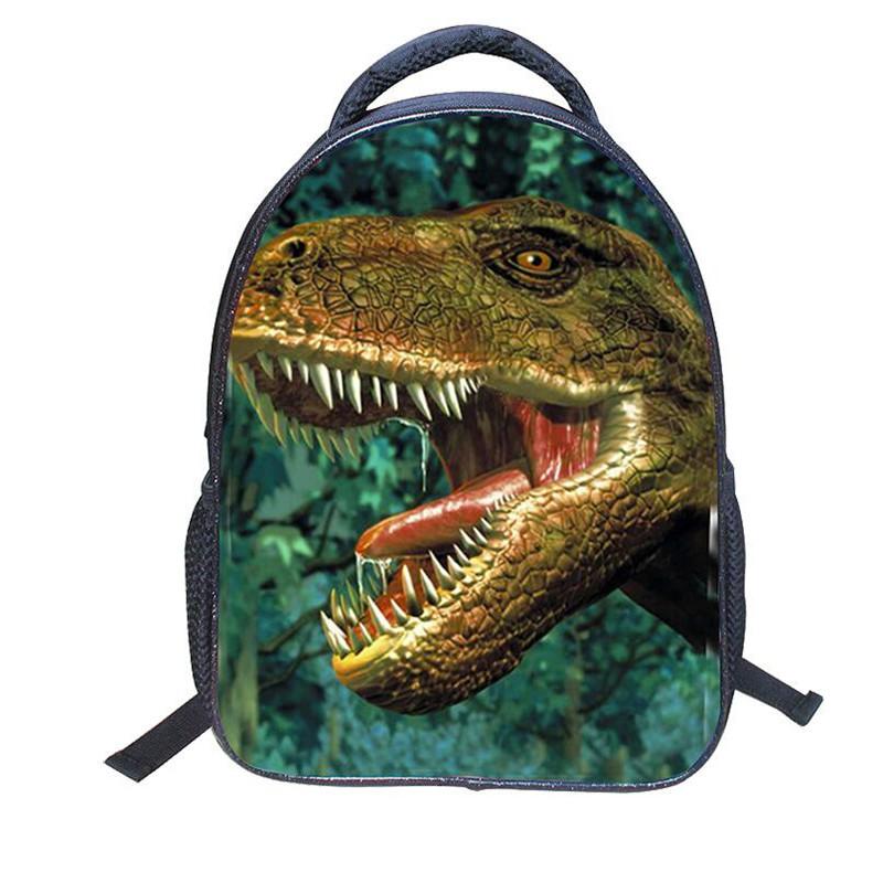 New Fashion Dinosaur Children School Bags Kids Backpack Cartoon Kindergarten School Bag Kid Schoolbag Backpacks Nylon Waterproof