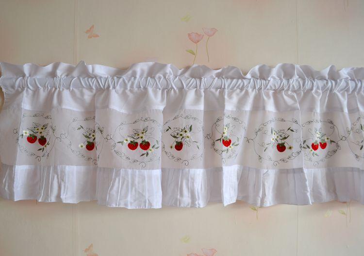 Compra cortinas cortas cocina online al por mayor de china for Cortinas cortas para cocina