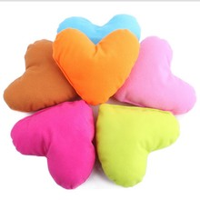 5 Piece /Set Pet Bed Plush Pillow Small Cushion Heart Dog Toys Pets Waterloo Accessories Dog Chew Throw Cotton Wool Dog Toys