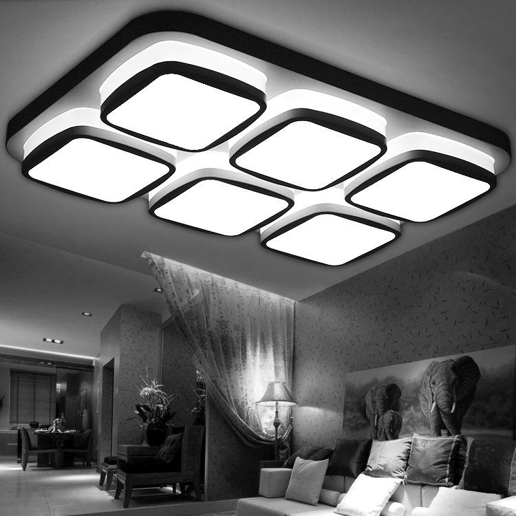 ceiling lights modern light minimalist lamp focos led techo plafon basket Lamparas De Techo Led Ceiling Light Home Lighting 48(China (Mainland))