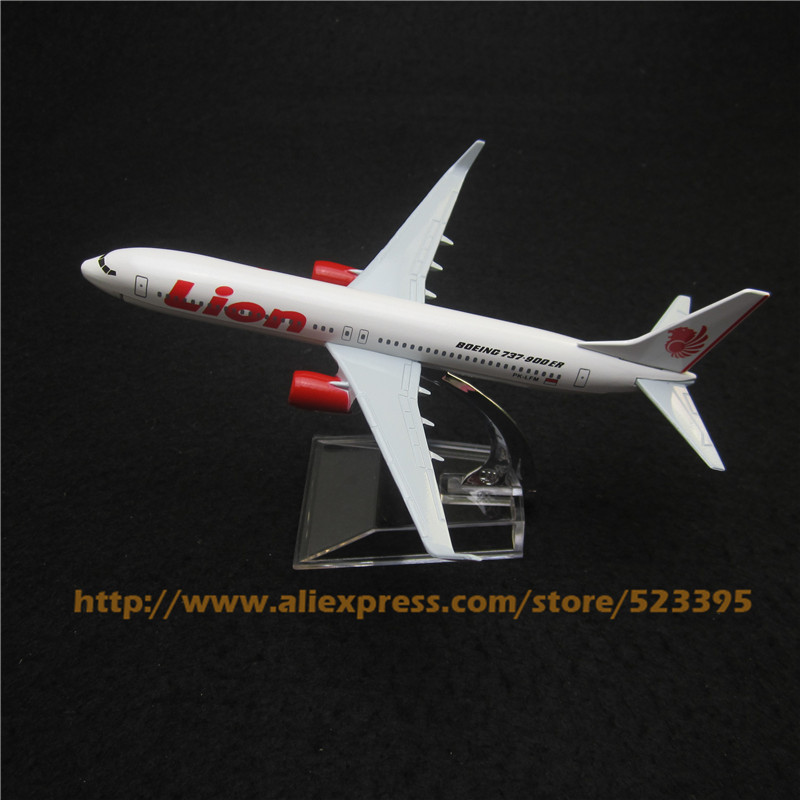 16cm Metal Model Airplane Indonesian Boeing 737 B737 900ER Lion Air Airlines Aircraft Plane Model W Stand Toy Gift(China (Mainland))