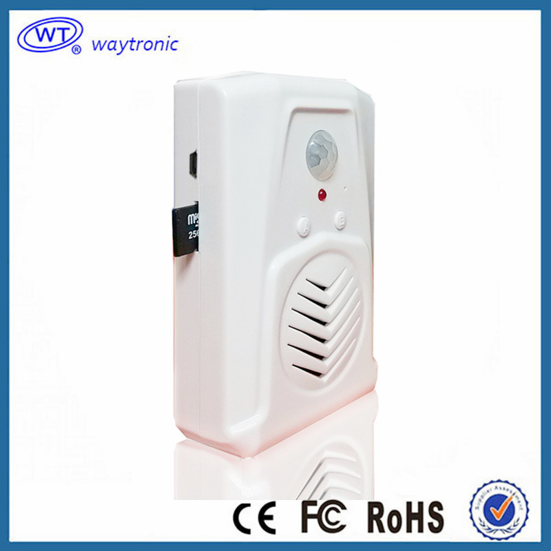 Visitor Welcome Door Chime Alarm Infrared Motion Sensor Long Range Wireless Doorbell For Shop Store(China (Mainland))