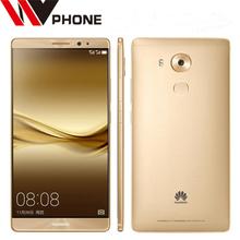 "WV Original Huawei Mate 8 4G LTE Mobile Phone Octa Core 3/4GB RAM 32/64/128GB ROM 6.0"" HD Android 6.0 Fingerprint ID SmartPhone(China (Mainland))"