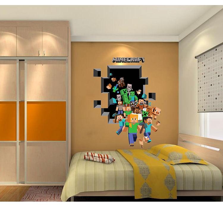 Jeu stickers muraux pour enfants chambres d coration for Autocollant decoration murale