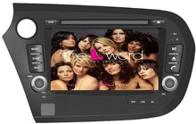 Rom 16 G 1024 * 600 Quad Core Android 4.4.4 Fit HONDA Insight 2010 2011 2012 2013 2014 2015 Car DVD Player GPS TV 3 G RADIO PC