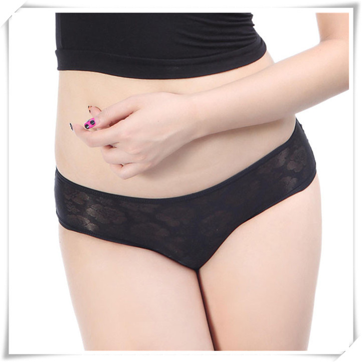 Newly Design Women's Sexy Lace Hollow Out Fasciola Cross Panties Briefs Lingerie Underwear June15(China (Mainland))