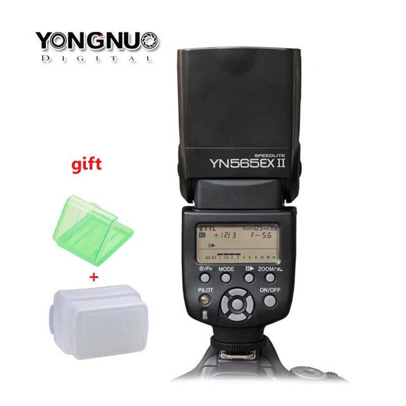 Фотография Yongnuo YN-565EX II for Canon, YN565EX YN-565 EX II ETTL E-TTL Flash Speedlight/Speedlite for 5D 5DII 450D 550D 600D 1000D 1100D