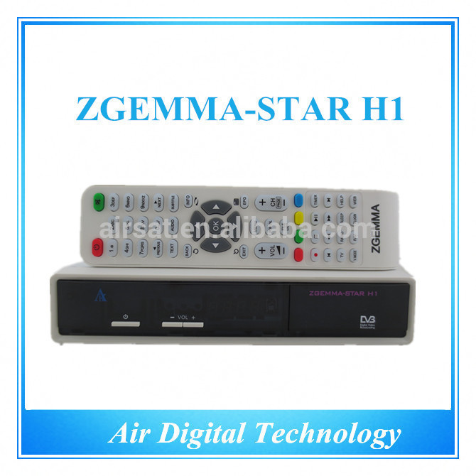 Zgemma Star H1 youtube satellite tv receiver hot new products for 2015(China (Mainland))