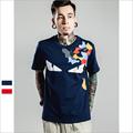 [5 patterns] Fashion 3D printed <font><b>mens</b></font> <font><b>t-shirt</b></font> specific style printed short sleeve summer t shirt <font><b>mens</b></font> V-neck shirt
