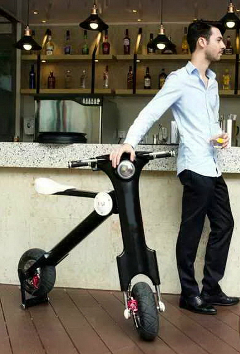 Great designed Foldable Electric Scooter, folding scooter for adult, Portable scooter, foldable scooter electric bike(China (Mainland))