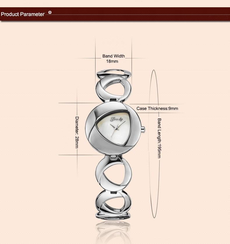 2016 Мода Новые Грейди Из Нержавеющей Стали Женские Часы Элегантные Золотые Часы Подарок Кварцевые Часы Женщины Наручные Часы Бесплатная Доставка