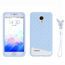 Buy Meizu M3 Note/M2 Note/MX4 pro/Metal Fabitoo 3D Cute Cartoon Rabbit Ice Cream Lanyard Soft Silicone Phone Cases Cover for $6.80 in AliExpress store