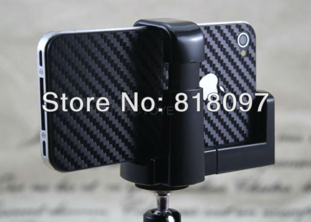 Free shipping- Universal Rotatable Mini Tripod Holder Stand For new iphone 4 4s 5 5G / Camera / Mobile Phone / Cell phone