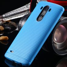 Конфеты цвет мода мягкой тпу кремния чехол для LG Optimus G3 D830 D850 D831 D855 тонкий соты точка аксессуары для LG G3