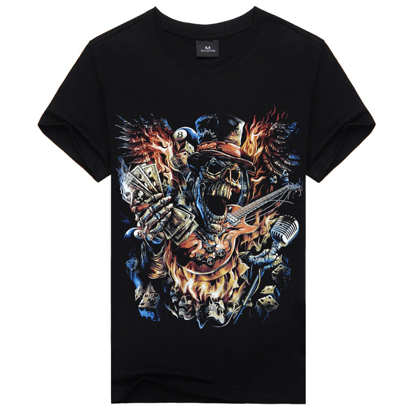 Cotton New Short 2015 Cool 3D Beautiful Hot Men Luxury Nice Printing Fashion T-shirt Casual Camisetas Popular Sleeve 78(China (Mainland))