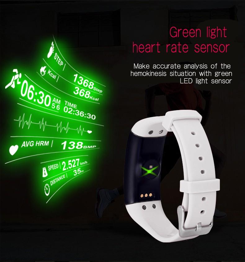ถูก D21บลูทูธสมาร์ทSmartwatchนาฬิกาสายรัดข้อมือสร้อยข้อมือวงอัตราการเต้นหัวใจS MartbandกิจกรรมติดตามการออกกำลังกายสำหรับIOS A Ndroid