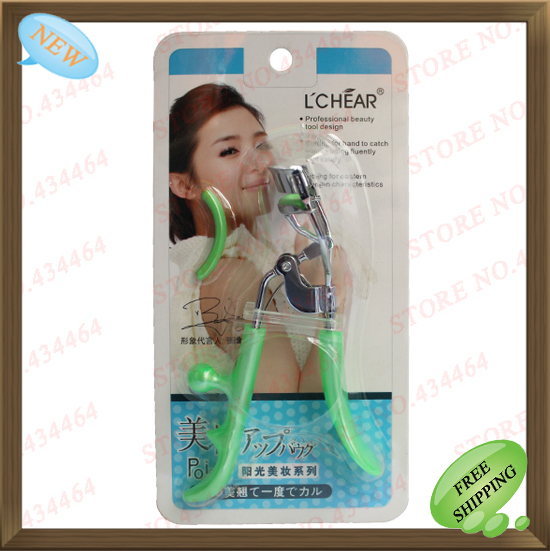 Wholesale Special Edition Boutique Beauty tools blooming temperament wind eyelash curler eye lash Clip 3 Pcs/Lot ACT12()