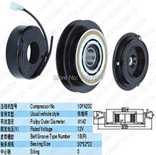 Buy High 10PA20C, 1B, R, 142mm automotive air conditioning compressor clutch coil pulley FOR IVECO for $38.00 in AliExpress store