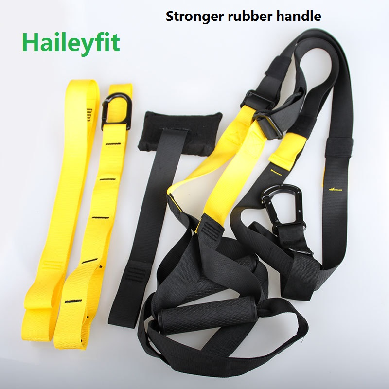 Pull Rope suspension trainer P3 Resistance Bands Crossfit Sport Equipment Strength Training Workout straps kit gym training(China (Mainland))