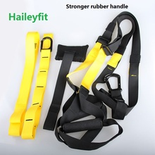 Workout strap suspension trainer P3 Resistance Bands Crossfit Sport Equipment Strength Training  gym training+wristband free