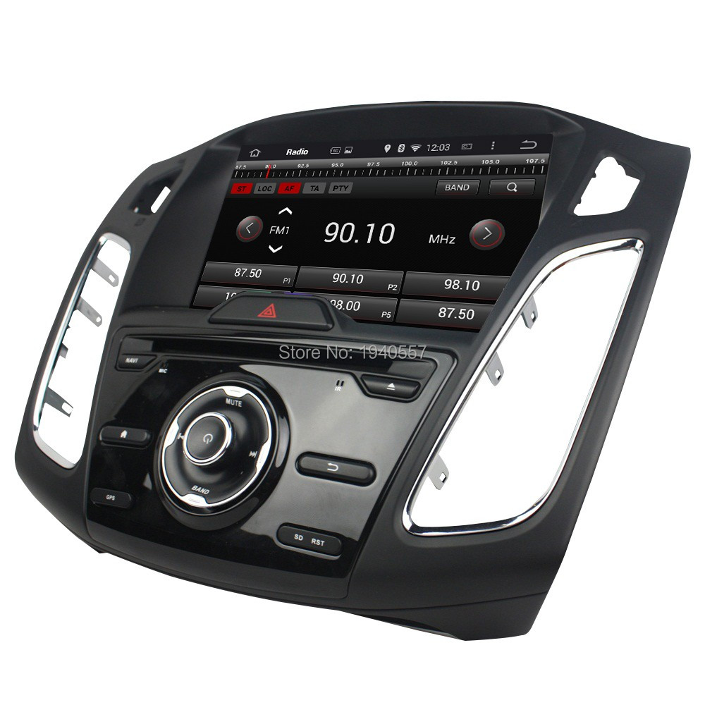 """Quad Core 1024*600 Android 5.1.1 HD 1 din 9"""" Car Radio dvd gps for Ford Focus 2015 2016 With 3G WIFI Bluetooth IPOD TV USB DVR(China (Mainland))"""